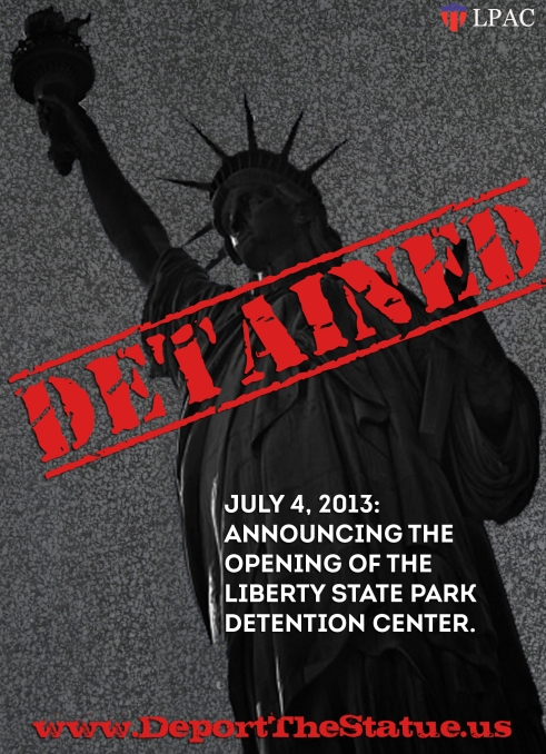 Deport the Statue_detained